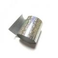 Фольга переводная для литья, для тиснения. Серебро звезды.