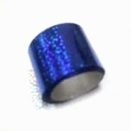 Фольга переводная для литья, для тиснения. Синий металл голгр. т