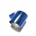 Фольга переводная для литья, для тиснения. Синий металл.