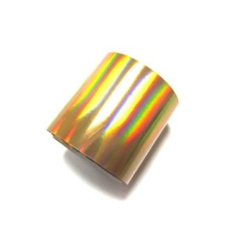 Фольга переводная для литья, для тиснения. Золото голография.