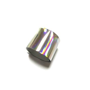 Фольга переводная для литья, для тиснения. Серебро голография