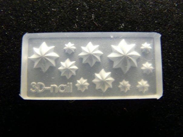 Формочки для лепки на ногтях